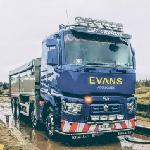 Evans Aggregates, Oswestry