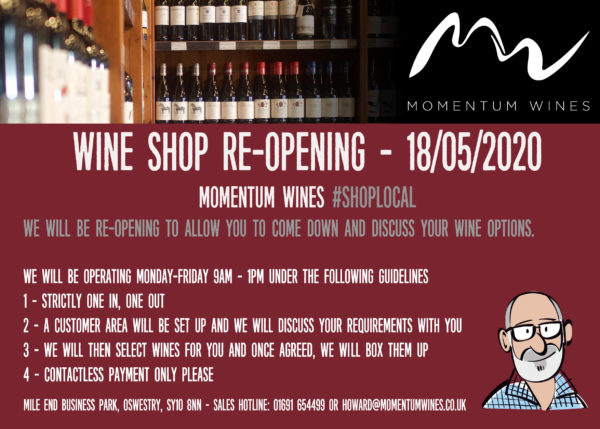 Momentum Wines Oswestry