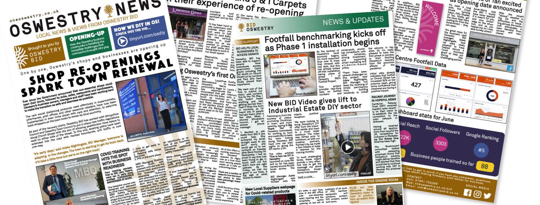 Oswestry BID July Newsletter