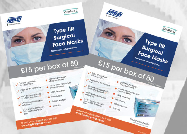Masks offer BML-Hayley Oswestry