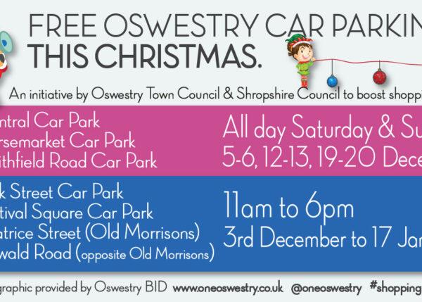 Oswestry car parks