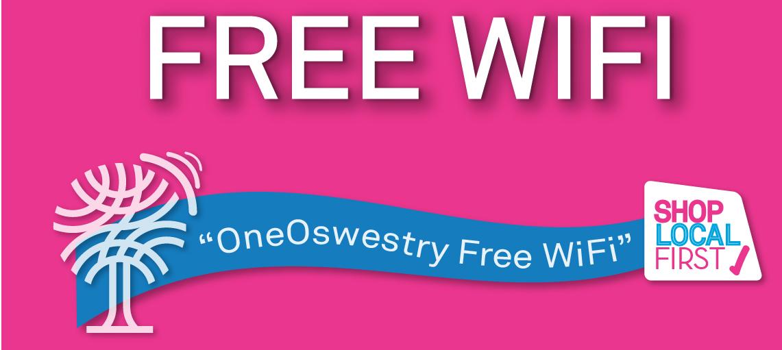 Oswestry free wifi